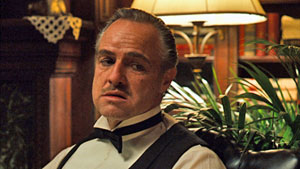 topfilms The Godfather (1972) staat hoog in de meeste lijsten