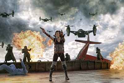 Recensie Resident Evil: Retribution