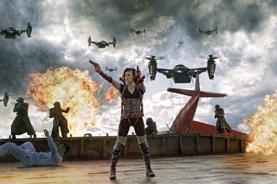 Recensie Resident Evil: Retribution