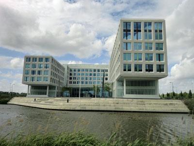 Endemolgebouw Amsterdam (Foto Carlijn Strodijk)