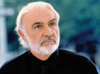 De Britse acteur Sean Connery