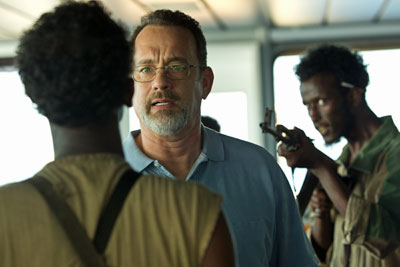 Tom Hanks in Captain Phillips tijdens het LIFF