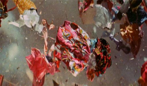 Exploderende kledingkast in Zabriskie Point (1970).