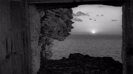 Beeld als spiegel van emoties in L'avventura (1960).