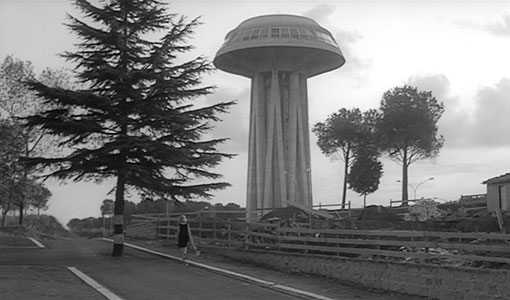 Onthecht in L'eclisse (1962).