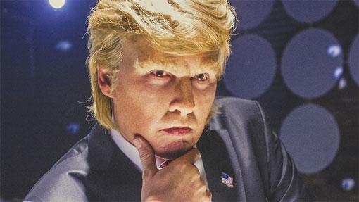 Depp als Trump
