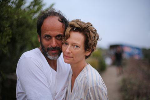Luca Guadagnino met Tilda Swinton