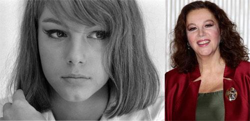 Stefania Sandrelli toen en nu