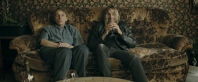Michel Houellebecq en Iggy Pop in To Stay Alive - A Method