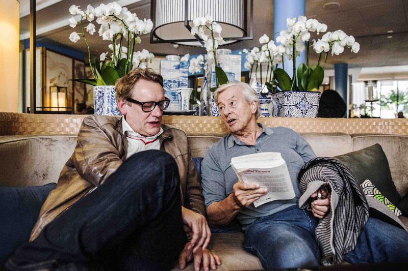 Rob van Scheers en Paul Verhoeven