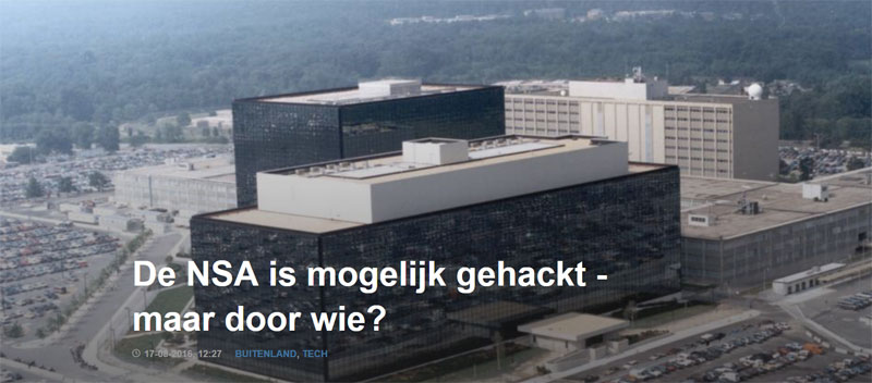NSA gehackt?