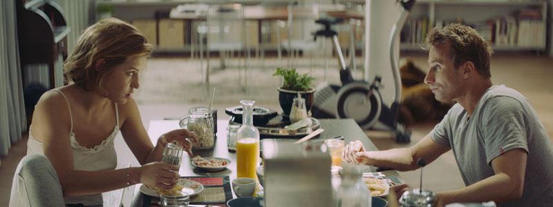 Adèle Exarchopoulos en Matthias Schoenaerts in Le Fidèle (2017)