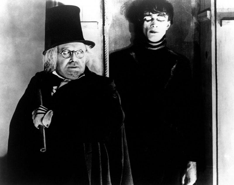 Das Cabinet des Dr. Caligari: Caligari en Cesare.