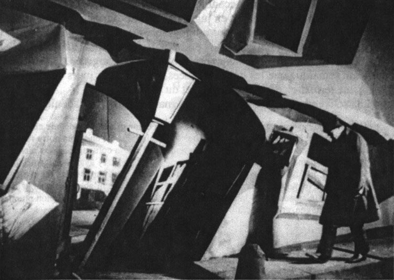 Raskolnikov: expressionistische decors