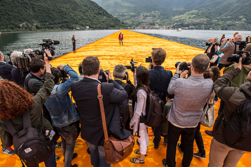 Christo: Walking on Water