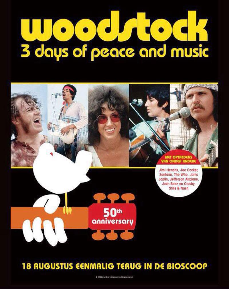 50 jaar Woodstock