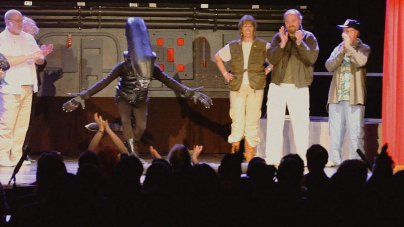 Alien on Stage