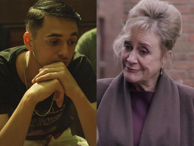 Shahine El-Hamus en Beppie Melissen